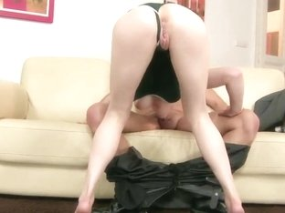 Skinny Pale Blonde Teen Lily Labeau Gets Nasty