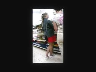Flash Cum In Supermarket 11