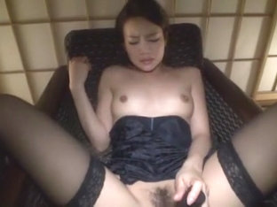 Best Japanese Slut Karen Aoki In Incredible Lingerie, Stockings/pansuto Jav Clip