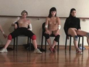 Naked On Stage 227 La Wagner