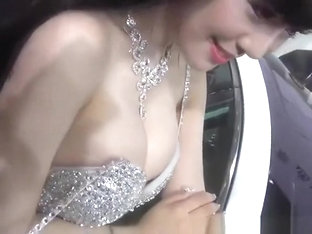 Asian Car Show Girl Nipple Slip
