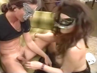 Masked Babe In Stockings Gets Hard Fuck