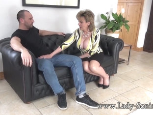 Spanish Fly In Lady Sonia's Tea Gets Her Horny As Fuck