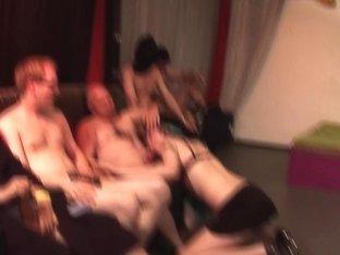 Emo Teens First Wild Gangbang Orgy
