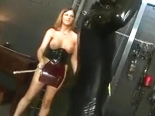 Whipping Latex Mistress