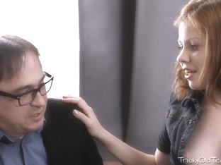 Tess Was Horny And Wanted Her Tricky Old Teacher To Fuck Her