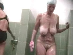 Hidden Cam Big Tits Mature Shower