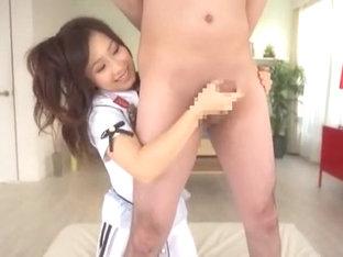 Horny Japanese Girl Minami Kojima In Best Girlfriend, Handjobs Jav Movie
