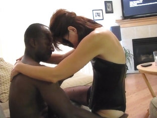 Amateur Interracial Trio Cuckold Cleans