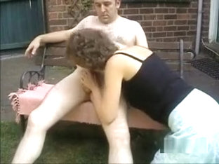 Mature British Couple Take A Shower Then Go Outside To Fuck