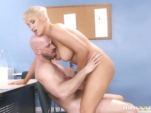 Ryan Keely & Johnny Sins In Progress Report - Brazzersnetwork