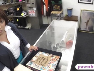 Busty MILF Pawns Her Pussy And Poundedto Earn Extra Money