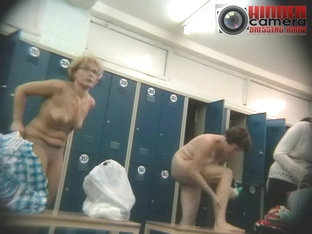 Curvy Old Wives Showing Off In A Voyeur Dressing Room Video