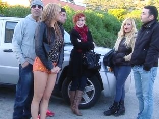 Natural Titted Russian Stripping In Public