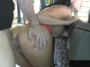 Busty Uk Taxi Babe Fucked Through Sluthatch