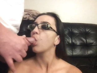Face Fucked And Facial While Chatting With Friends