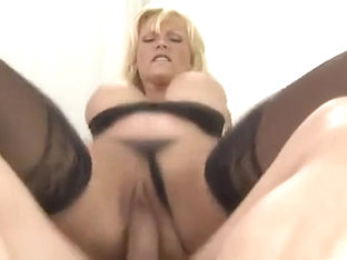 Adorable Breasty Mature Lady Brings Dude To Ejaculation