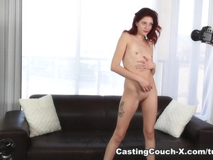 Fabulous Pornstar In Amazing Small Tits, Redhead Adult Video