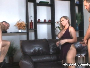 Incredible Pornstars Marcus London, Devon Lee In Best Big Ass, Threesomes Sex Movie