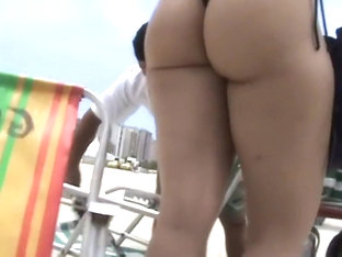 Perfect Example Of A Big Beach Ass