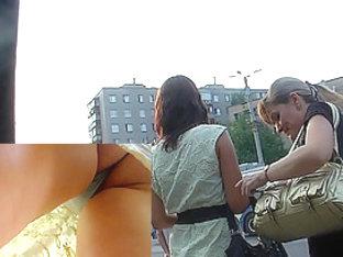 Public Up Petticoat Wet Crack Video