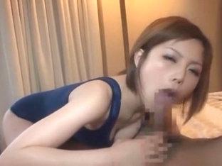 Best Japanese Chick Hikaru Kirameki In Incredible Blowjob/fera, Fetish Jav Clip