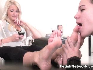 Incredible Pornstar In Hottest Foot Fetish, Femdom Porn Clip