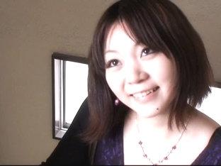 Innocent Asian Brunette Downblouse Vid