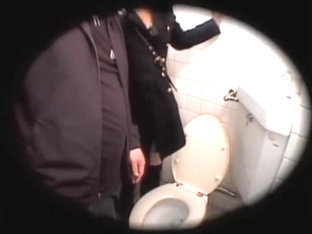 Beautiful Japanese Teen Had Hardcore Sex In A Toilet