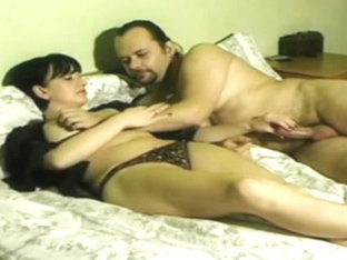 Homemade Russian Pair