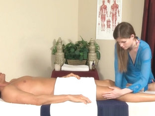 Teeny Masseuse Facial