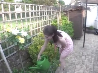 Hot Sex Girl Watering Implants 2