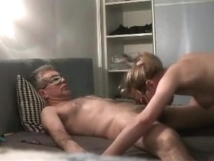 Old Man Has A Zorro Sex Fantasy. His Mistress Takes Care Of Him With A Blowjob.