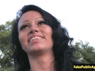 Pulled Hungarian Amateur Nailing In The Park