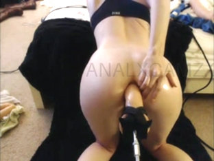 Anal Masturbate With Fuck Machine