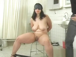 Slender Teenager Gets Stripped, Thonged And Punished