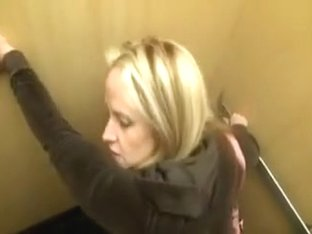 Sex In A Public Toilet And On Elevator