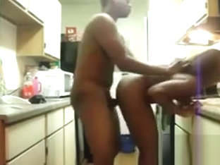 Pounding My Girlfriend In The Kitchen