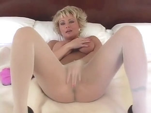 Speaking, pussy pantyhose brunette rips plays toys suggest