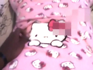Ginger Gets Fucked In Hello Kitty Onsie