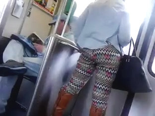 Nice Ass On The Train