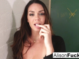 Alison Tyler In Naughty Masturbating School Girl Has To Stay After School - Alisontyler