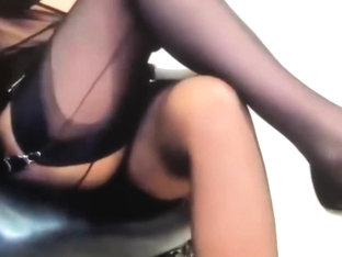 Mistress Y. Is Talking Too Us, She Loves Too Humilate In Her Tights Layers