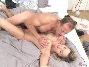 Best Pornstars Sunny Jay, George In Incredible Blonde, Big Tits Porn Clip