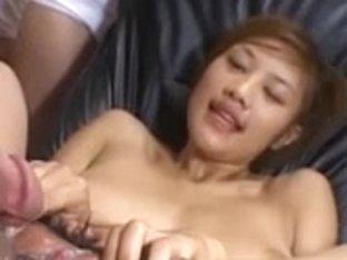 Asian Pussy Bukkake