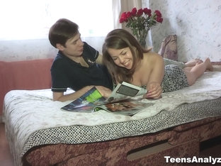 Teens Analyzed - Rita Jalace - Flowers Guarantee First Anal