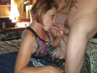 Hot MILF Gets Oral Creampie While Suckin My Cock