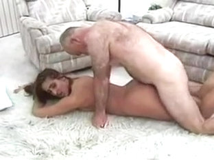 Young Natasha Heart Conquered By Old Dave