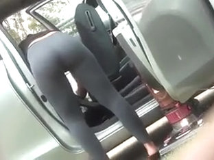 Babe With Nice Ass Un Sheer Leggings