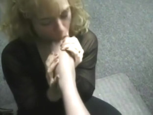 Stacy Tiffini Condensed Lesbian Nylon Foot Worship